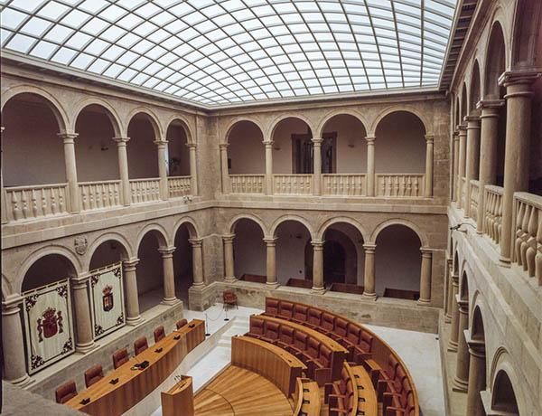 PLR Hemiciclo del Parlamento de La Rioja