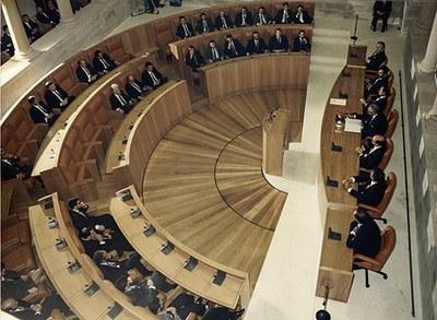 PLR_Inauguración de la nueva sede del Parlamento de La Rioja. Hemiciclo