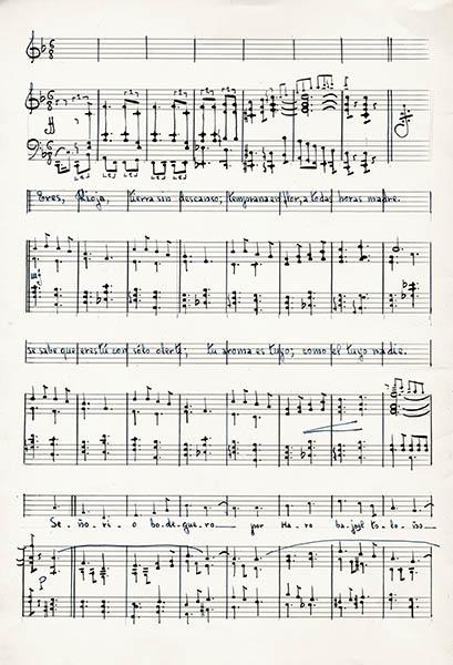 PLR Partitura del himno de La Rioja